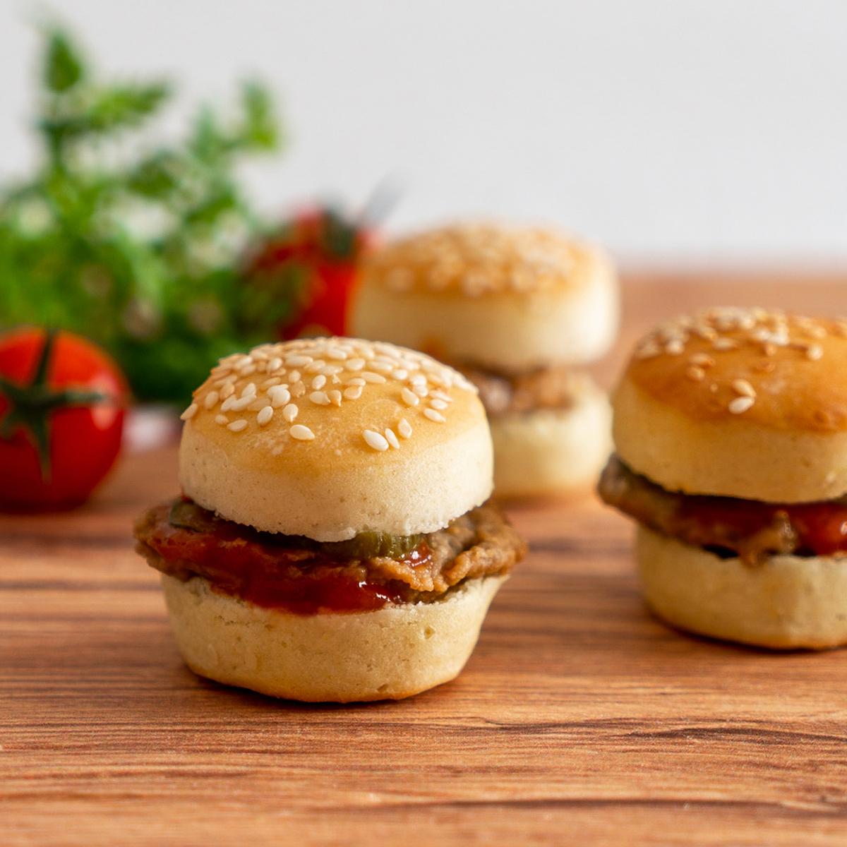 Mini Burger Classic mit Schweizer Fleisch