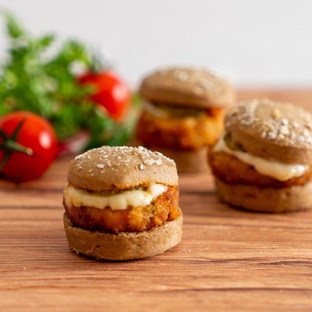 Mini Burger Falafel (vegetarisch)