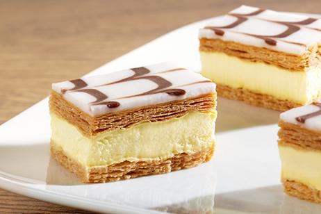 Mini Cream Slices
