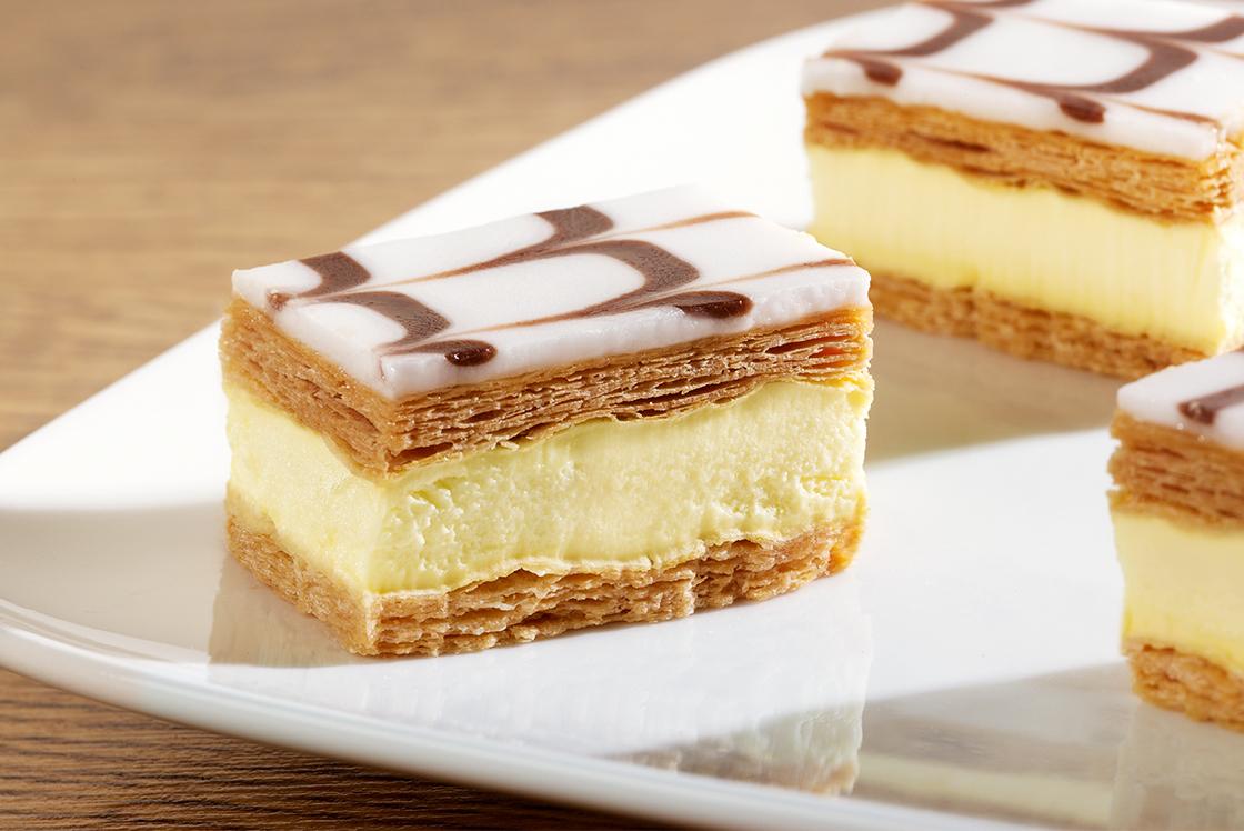 Mini Crèmeschnitten